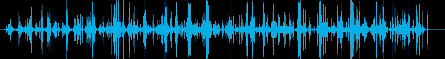 ジャララララの再生済みの波形