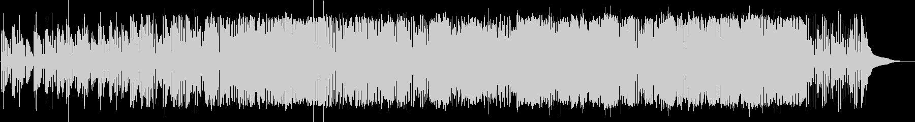 ドラムンベースロック。重いタテノリロックの未再生の波形