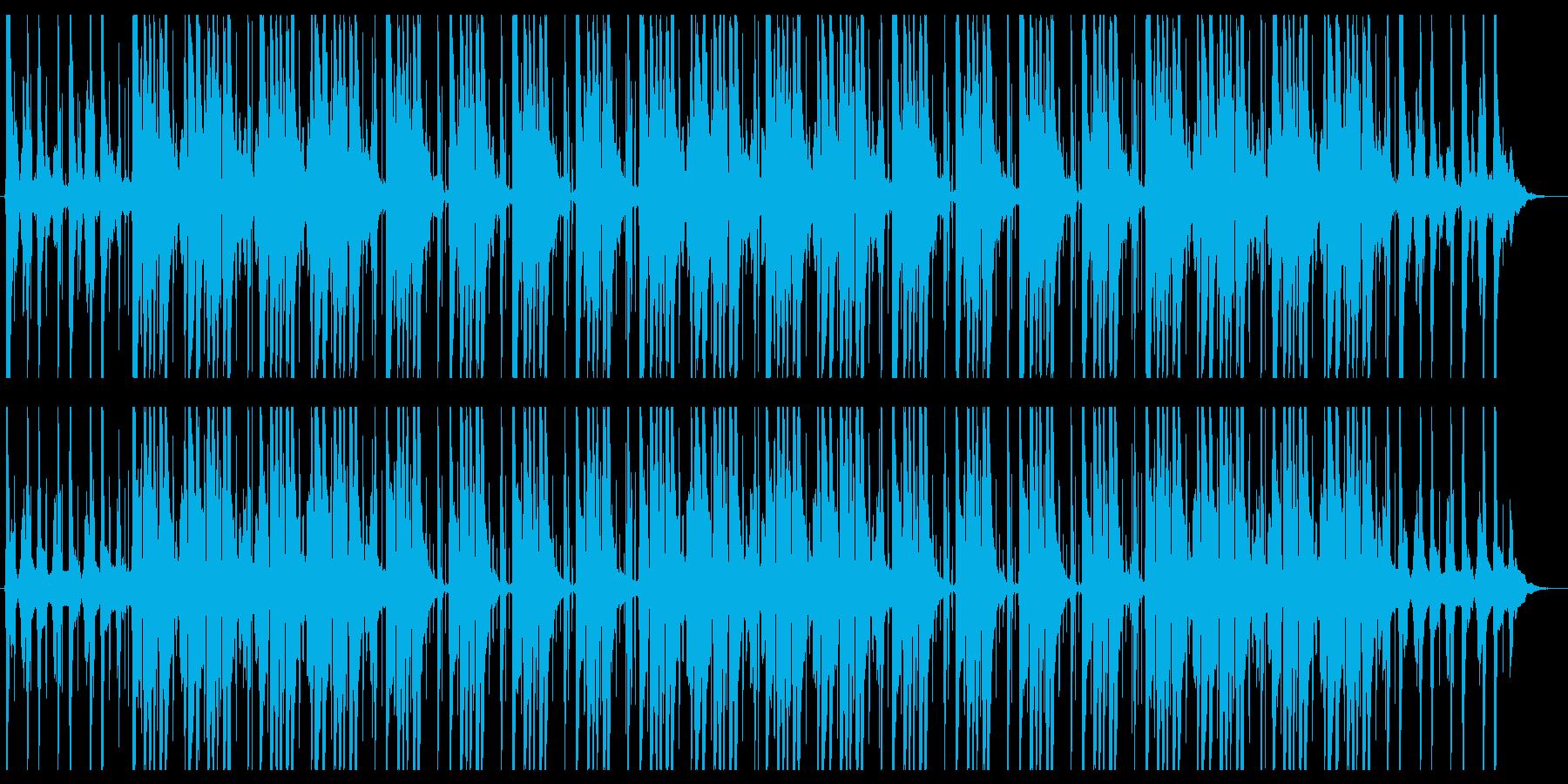 オシャレ・カフェ・チルアウトの再生済みの波形