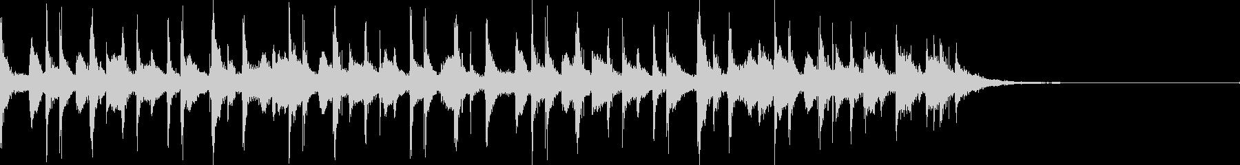 カリビアンジングル1(OP系)の未再生の波形
