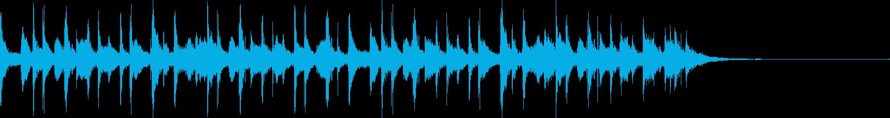 カリビアンジングル1(OP系)の再生済みの波形