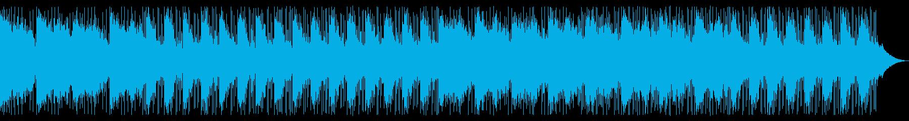 夏の風。爽やか。ラウンジミュージック。の再生済みの波形