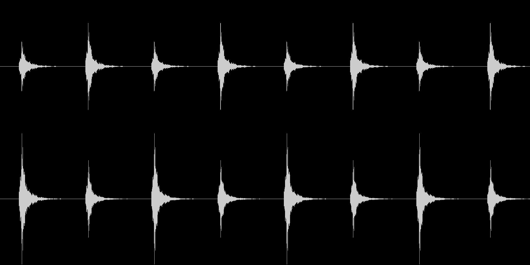 鈴が左右で鳴る(和風ホラー・ループ可能)の未再生の波形