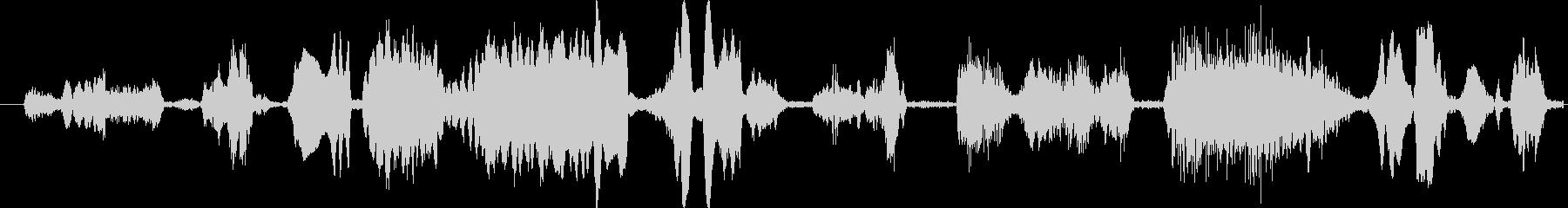 モンスター グリッチトーク04の未再生の波形