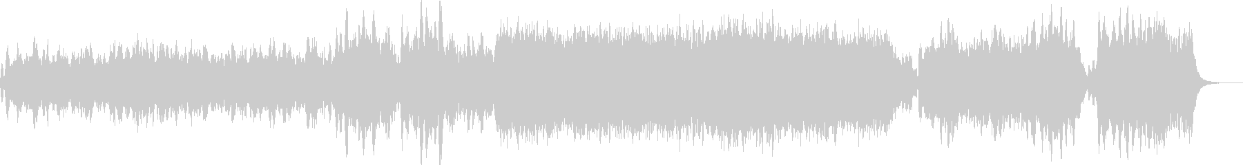 シンセとストリングスによる幻想曲の未再生の波形