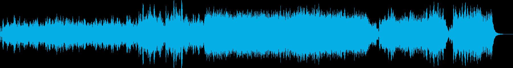 シンセとストリングスによる幻想曲の再生済みの波形