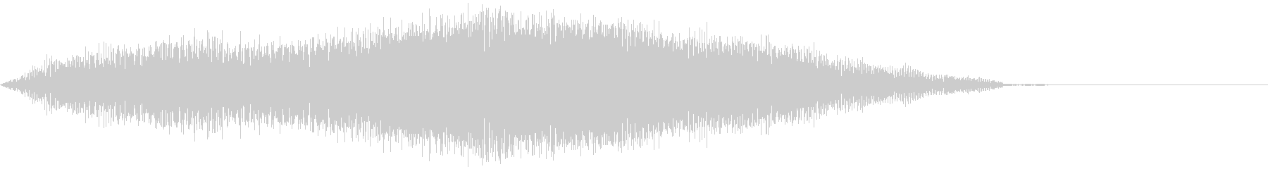 ミステリアスな音 不安 不気味 ブーンの未再生の波形