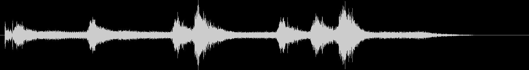 コルベット;開始/アイドル/オフ。...の未再生の波形