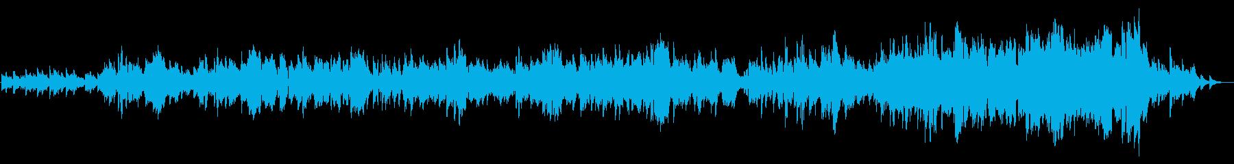 静かな感動と挑戦_挿入歌・エンドロールにの再生済みの波形