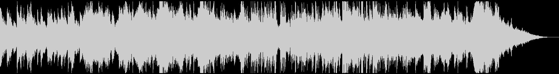 生演奏チェロとハープのロマンチックワルツの未再生の波形