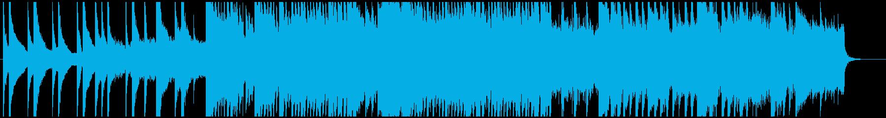 ★ドラマ・CM等★シリアスピアノバラードの再生済みの波形