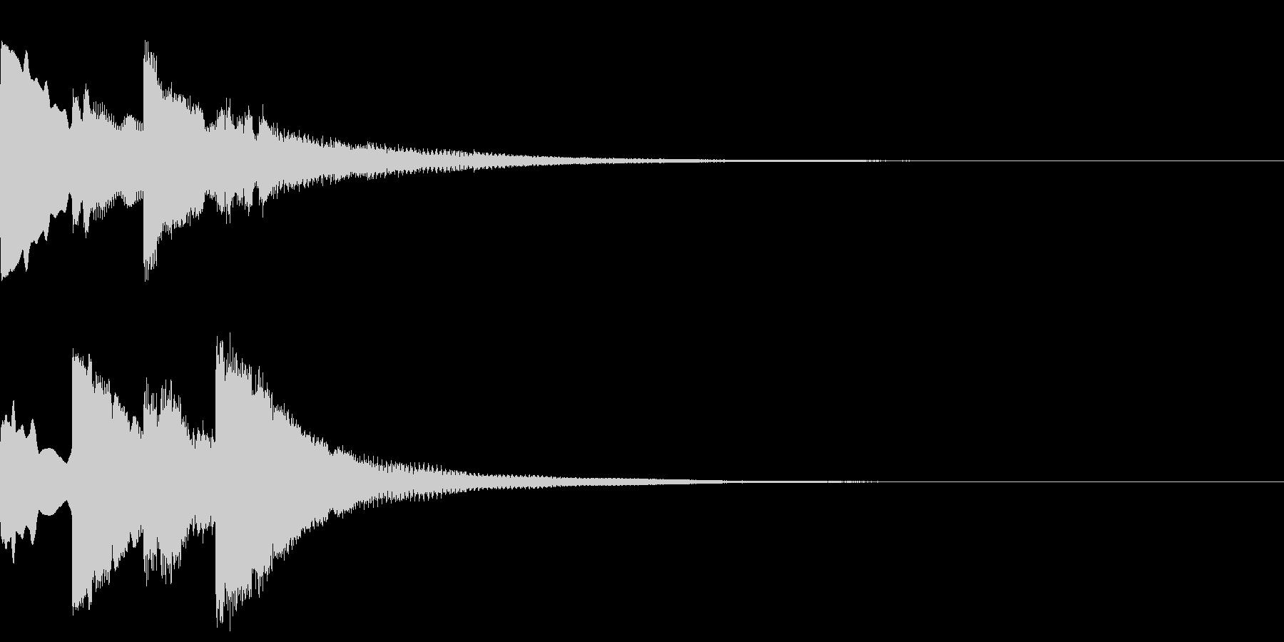ポンポンパンポン/終わり/呼び出し/#3の未再生の波形