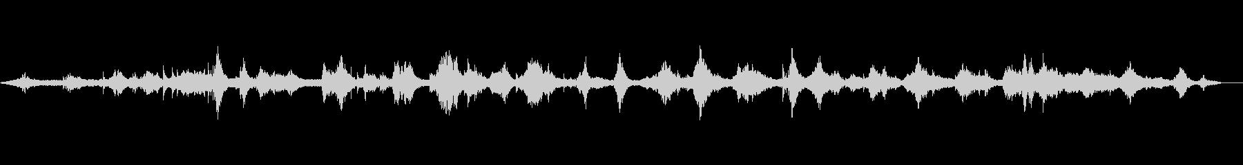 ピアノと尺八の和風ヒーリングミュージックの未再生の波形