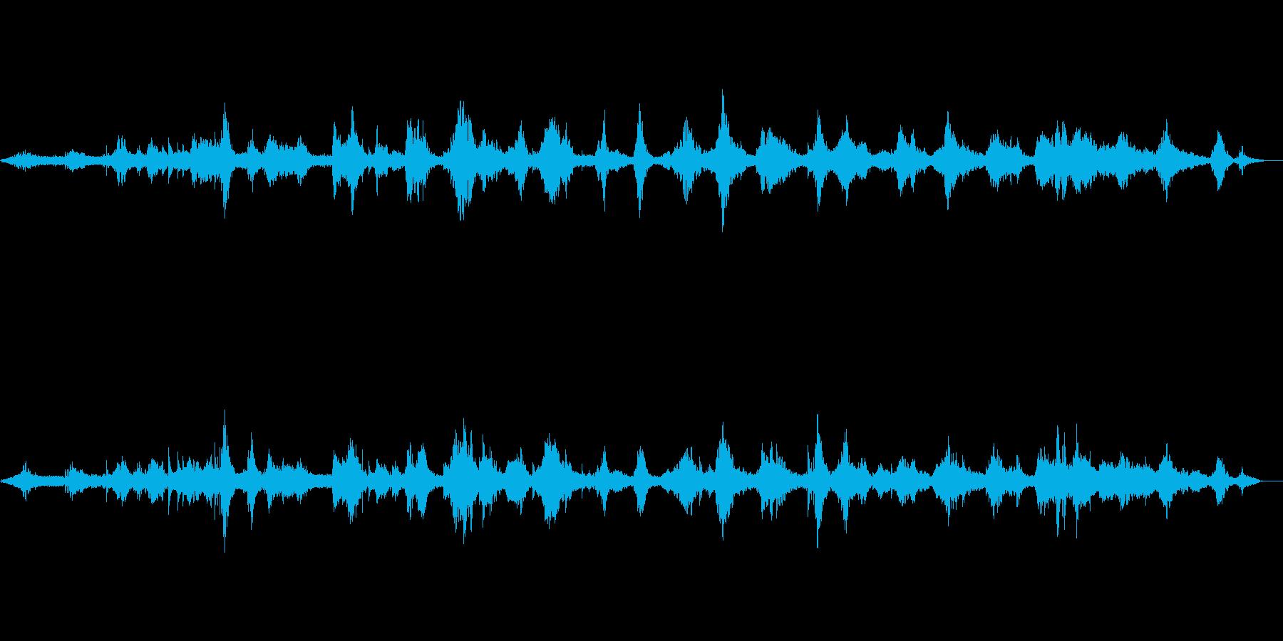 ピアノと尺八の和風ヒーリングミュージックの再生済みの波形
