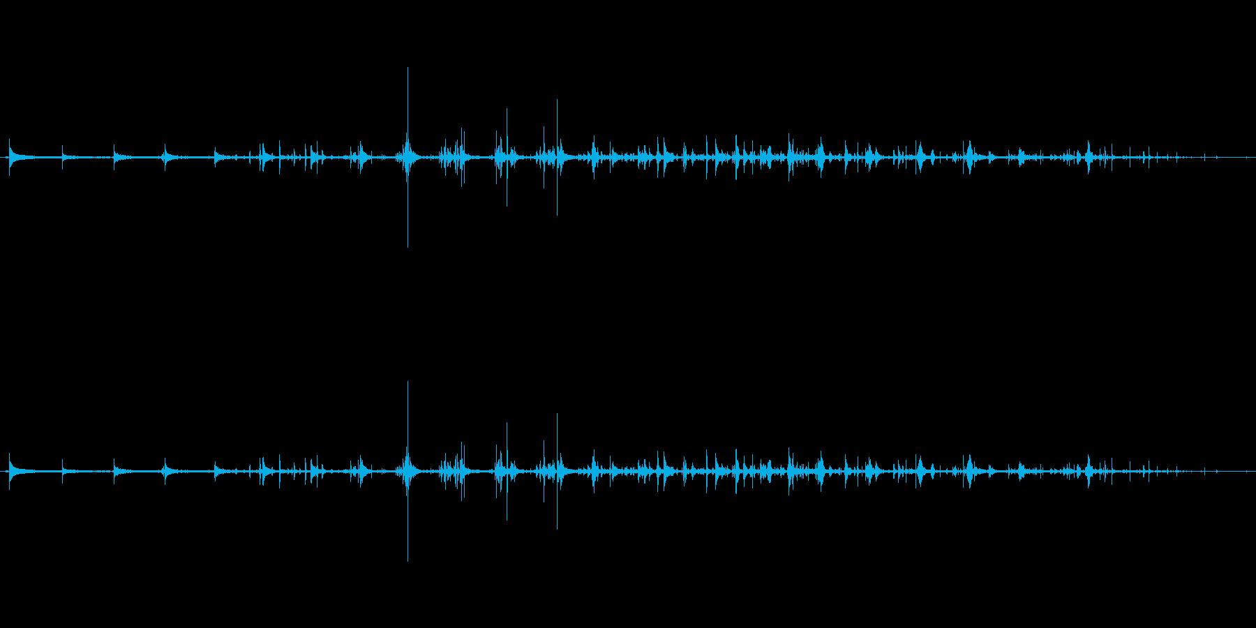 トクトクトク_日本酒を注ぐ音の再生済みの波形
