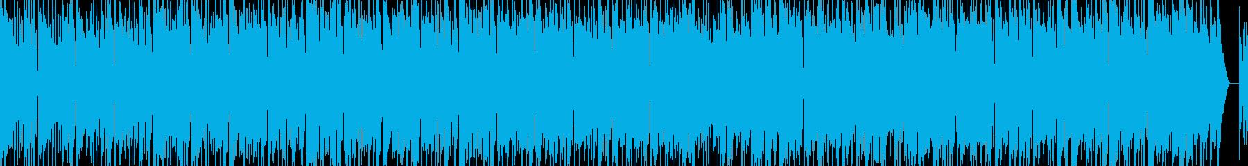 夏のドライブで80年代風POPSの再生済みの波形