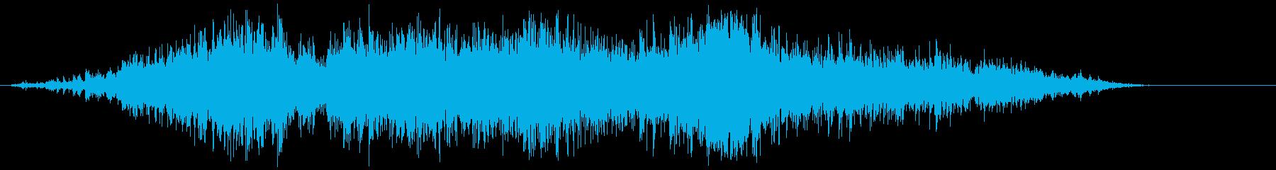 ビニール袋(ガサガサ)の再生済みの波形