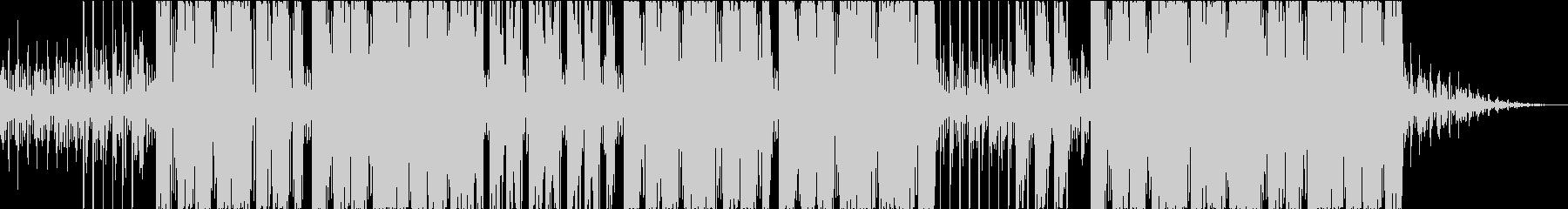 パワフル、インテンス、ヒップホップの未再生の波形