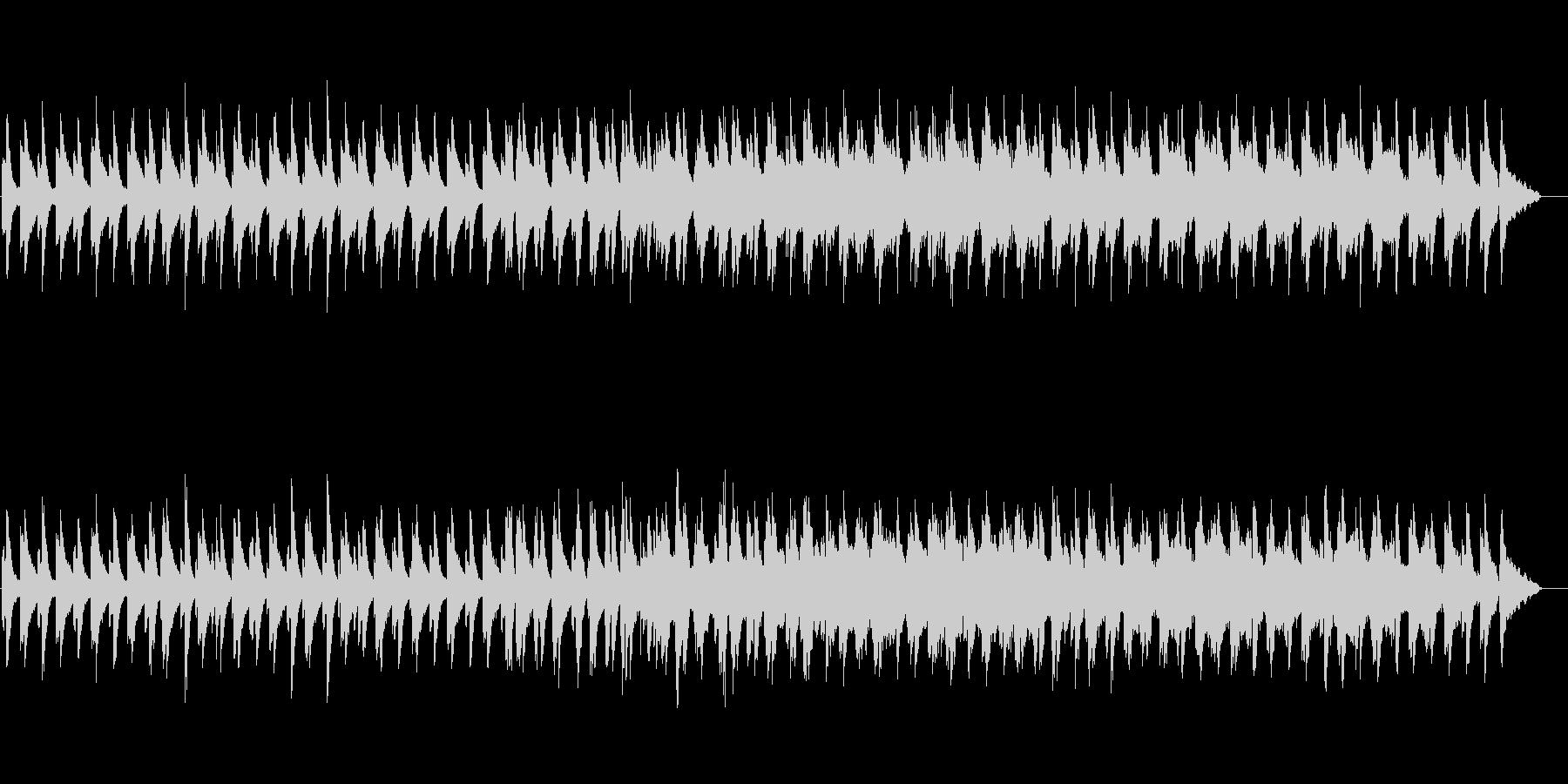 微粒子(クリスタル・ライツ)の未再生の波形