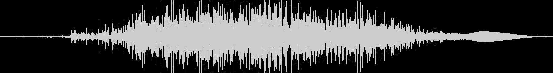 ジー(ジッパーの音※高速)の未再生の波形