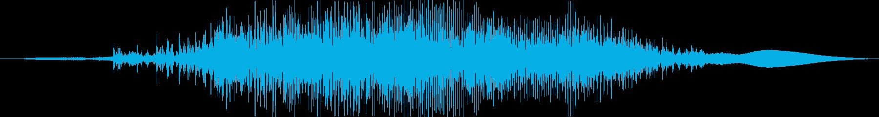 ジー(ジッパーの音※高速)の再生済みの波形