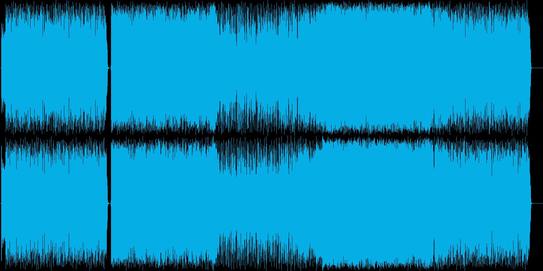 ニヒルで謎めいたキャラなイメージの再生済みの波形