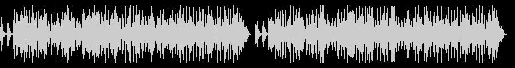 メンデルスゾーン「結婚行進曲」ピアノの未再生の波形