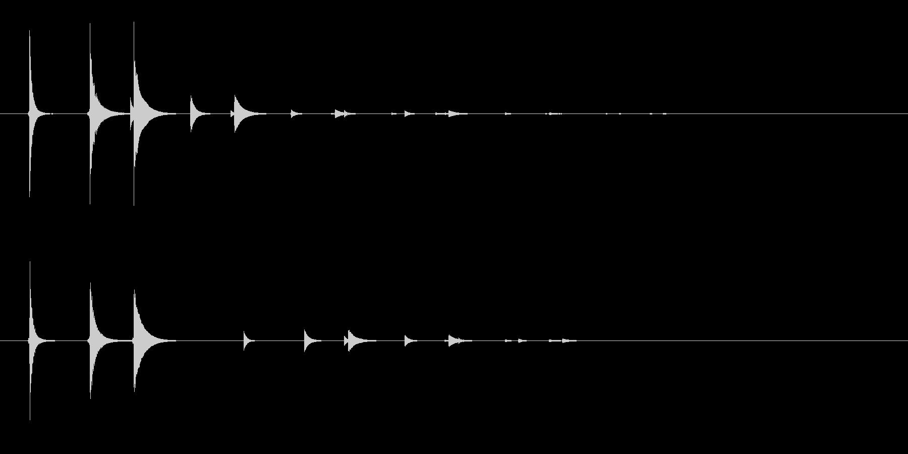 ピポリの未再生の波形