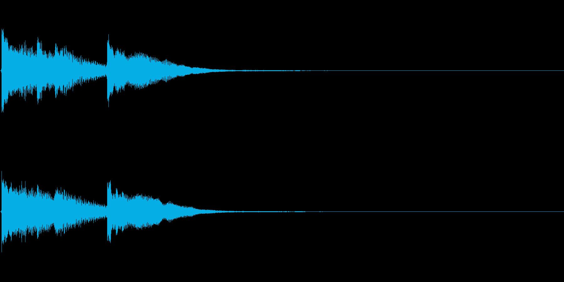 クリア 正解 ジングル サウンドロゴ 1の再生済みの波形