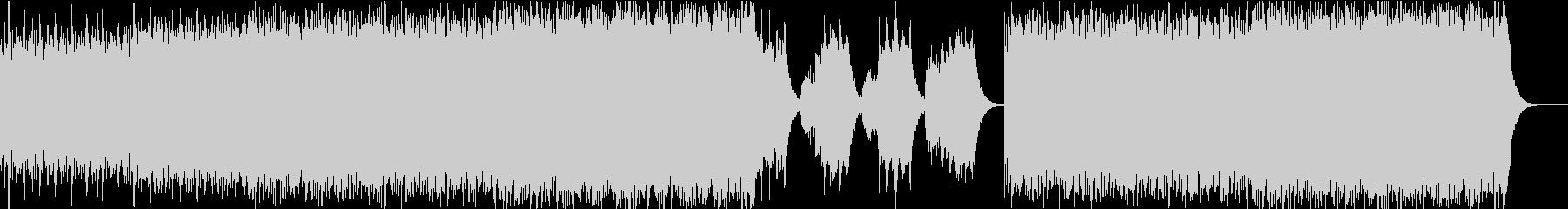 ストリングスの響が緊張感を演出の未再生の波形