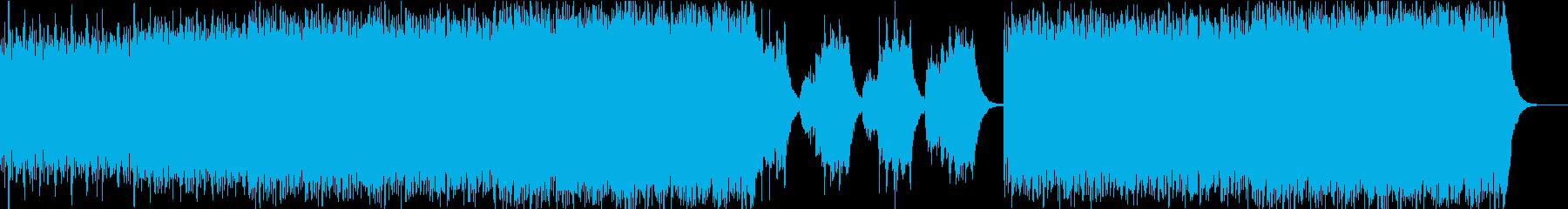 ストリングスの響が緊張感を演出の再生済みの波形