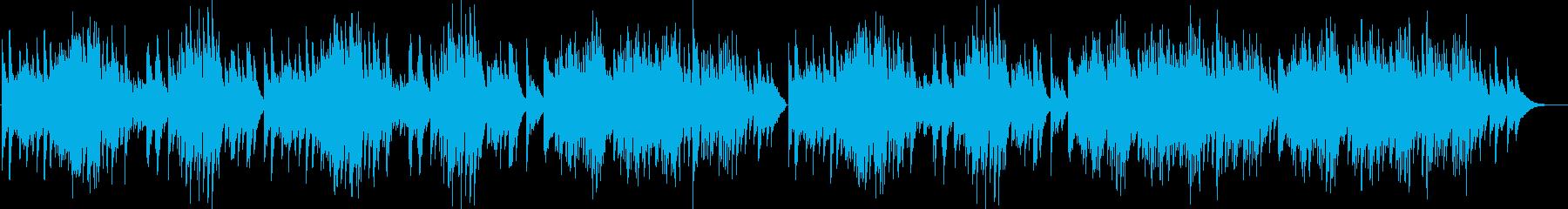 切ない感じのヒーリング系ピアノソロの再生済みの波形