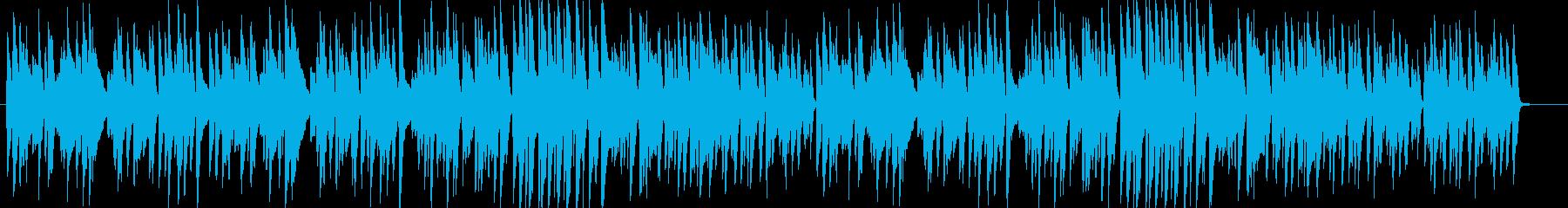 ピアノソロ 軽快かっこよくハイテンポの再生済みの波形