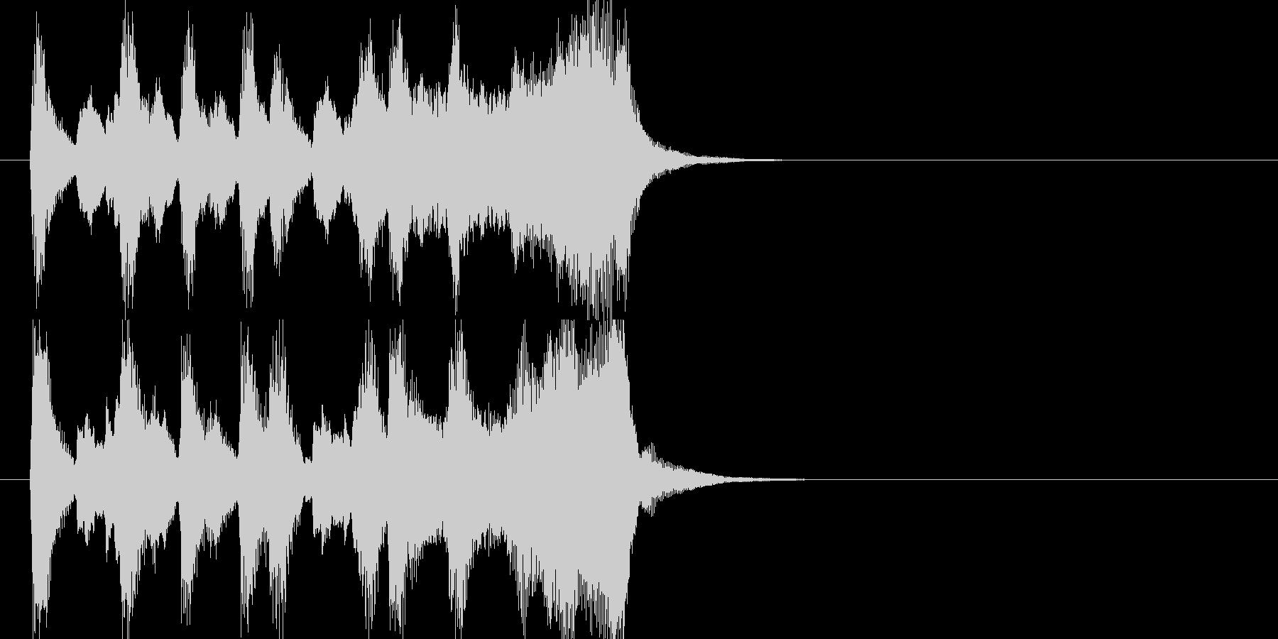 CMに合いそうな軽快なオーケストラ音源の未再生の波形