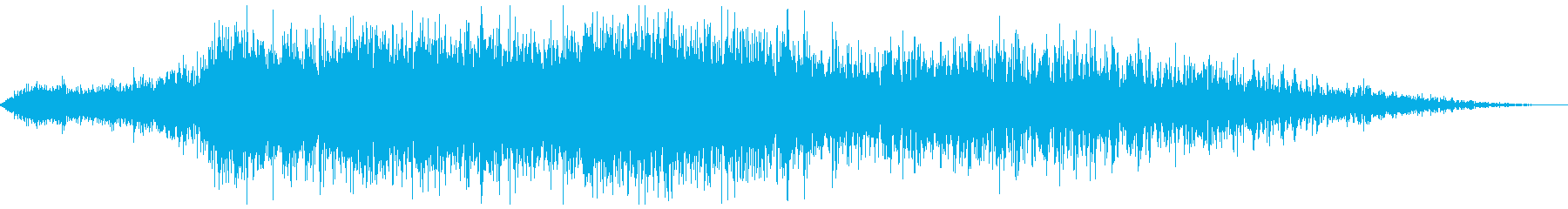 中型旅客機の離陸(滑走路の始まり)の再生済みの波形
