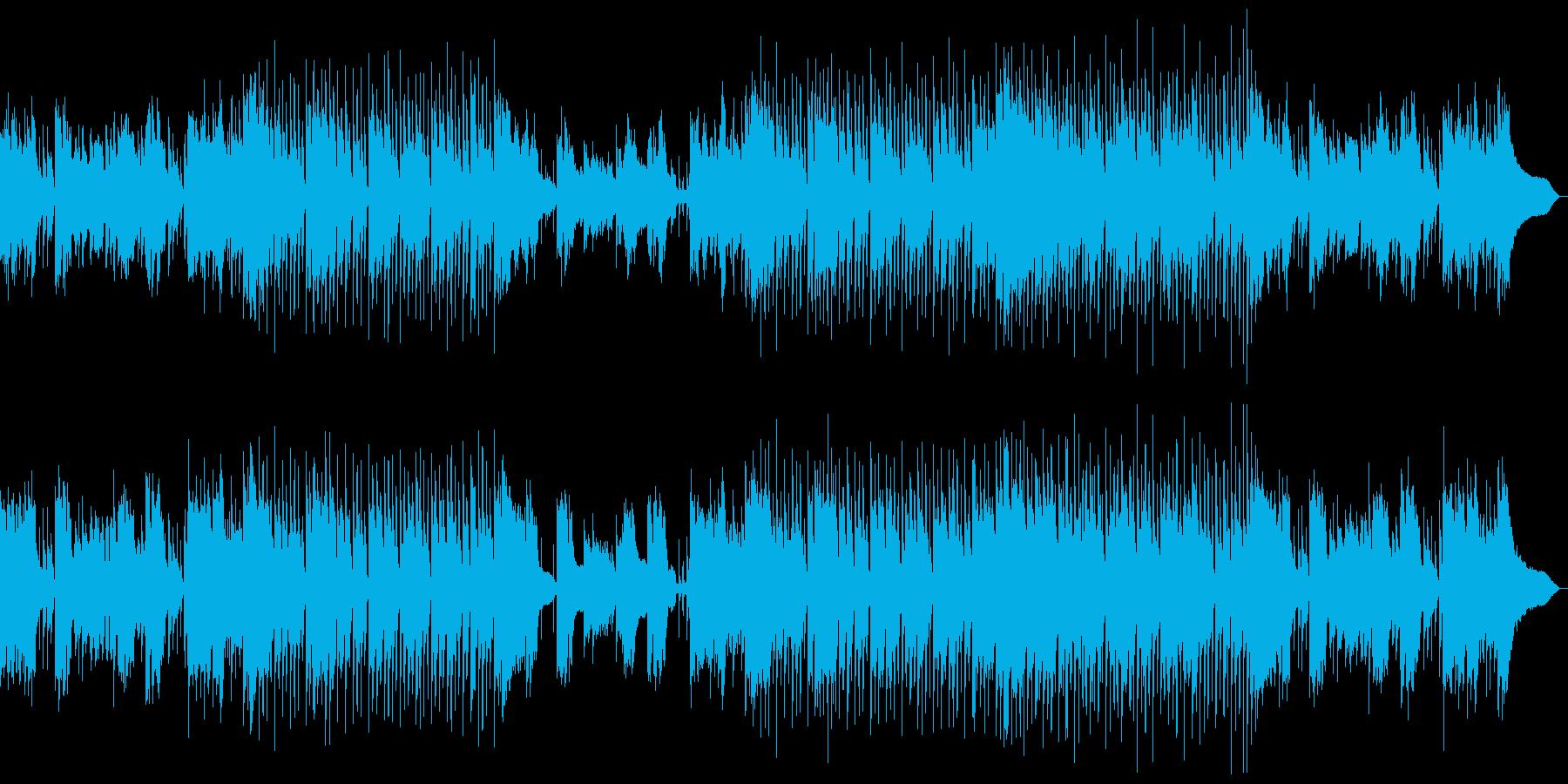 おしゃれでさわやかな企業VP用ジャズの再生済みの波形