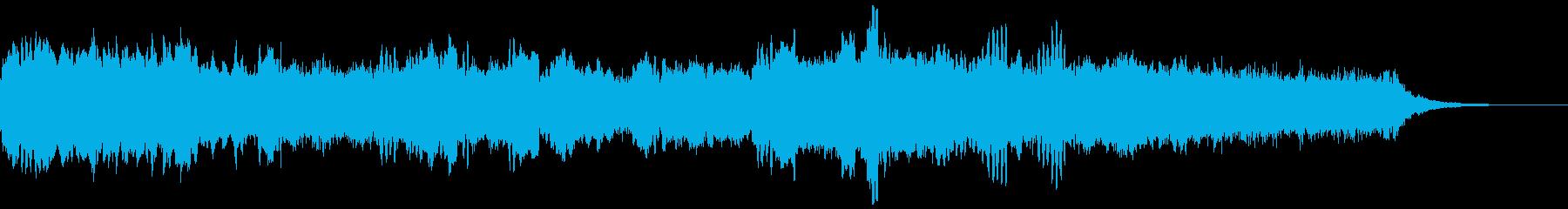 笙の音色が響く、神秘的な和風BGMの再生済みの波形
