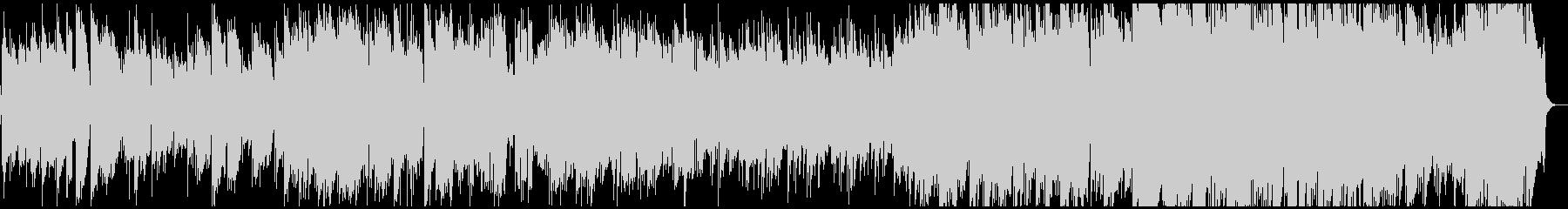 エレクトリックピアノの前向きなジャズの未再生の波形