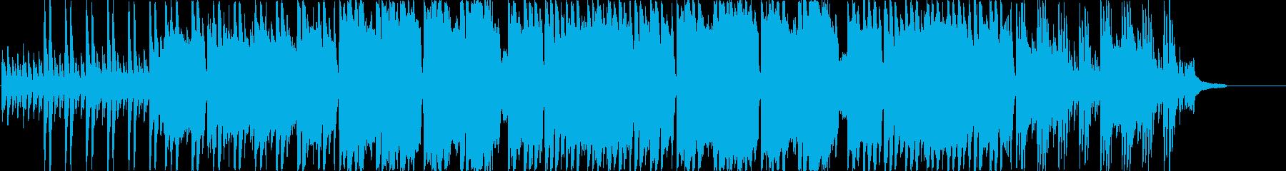空間BGMです。作品展示場、CMなどに…の再生済みの波形