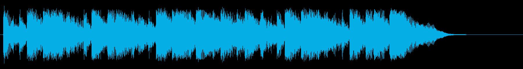 シネマティック ライフスタイルの再生済みの波形