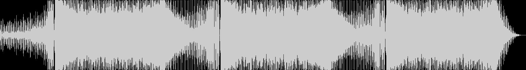 キャッチーで少しダークなEDMロングの未再生の波形