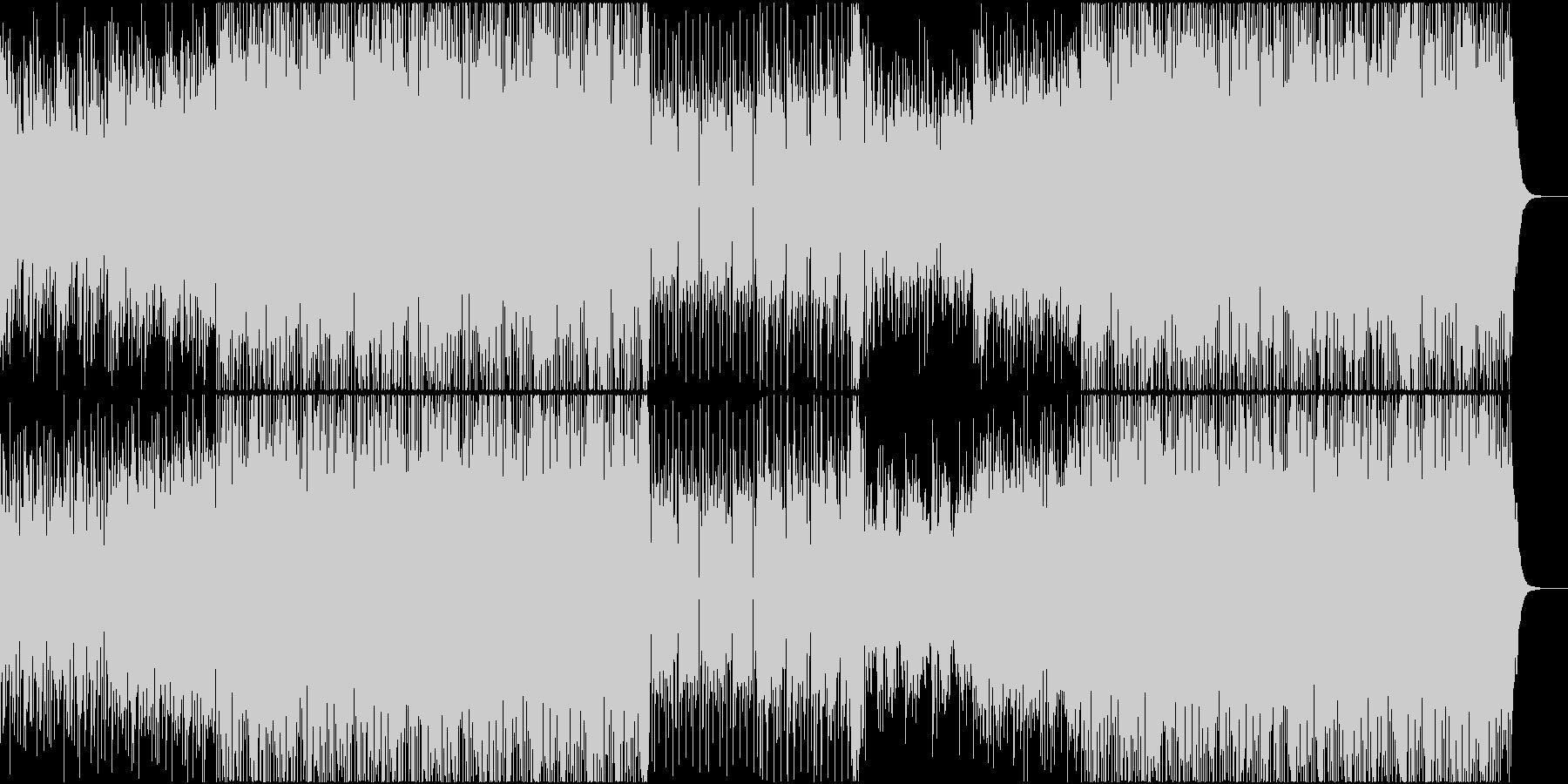 ディスコ 80年代 ポップス ダンスの未再生の波形