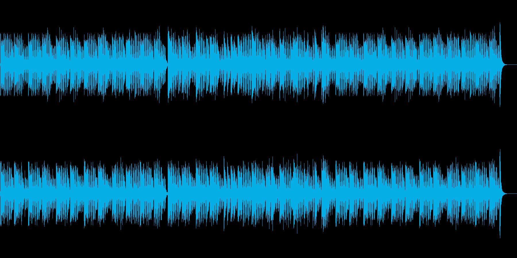 愉快で軽快、楽しいピアノソロ曲の再生済みの波形