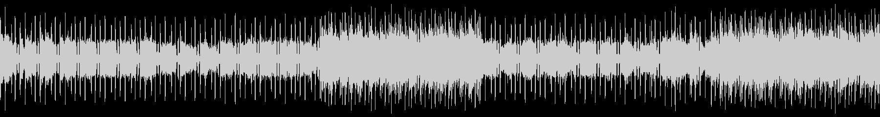 ベースなし ループバージョンの未再生の波形