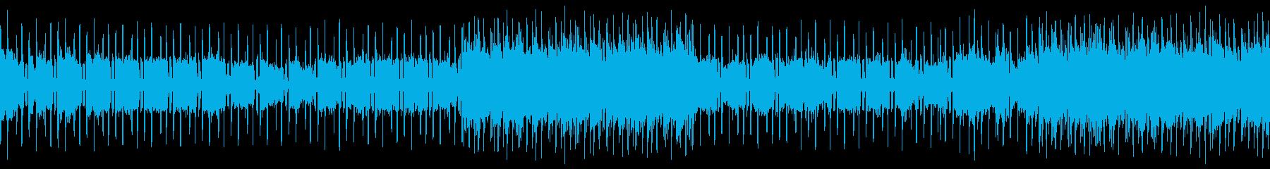 ベースなし ループバージョンの再生済みの波形