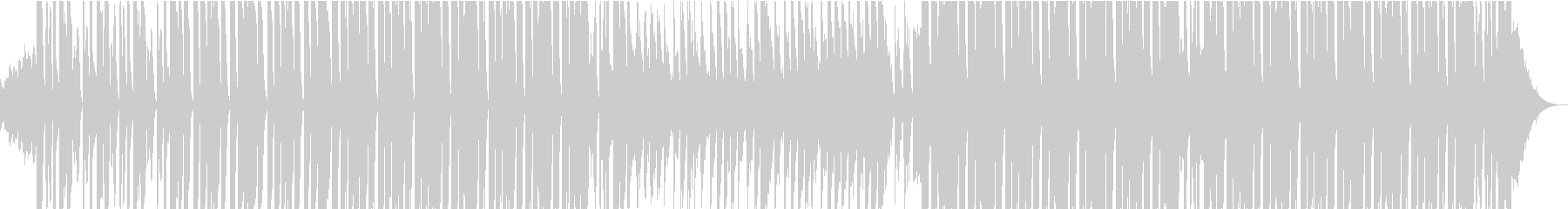 House Backgroundの未再生の波形