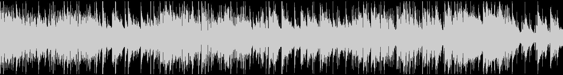 クールな雰囲気のクラブジャズ ※ループ版の未再生の波形