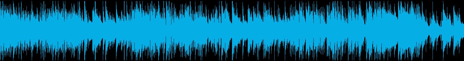 クールな雰囲気のクラブジャズ ※ループ版の再生済みの波形