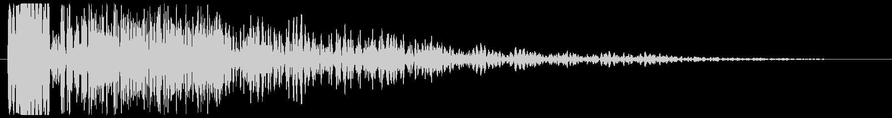 ボァ〜ン(起動音など)の未再生の波形