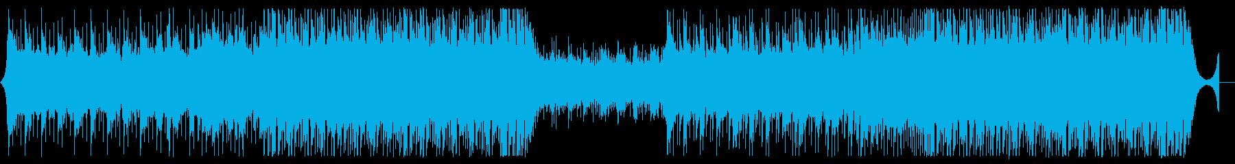 アコギが爽やかなJPOP風BGMの再生済みの波形